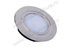 Светильник LED встр, мат.стекло IP44 .220B 4Bт, 4000К  04.112.04.401 - Оптовый поставщик комплектующих «МФ-КОМПЛЕКТ»