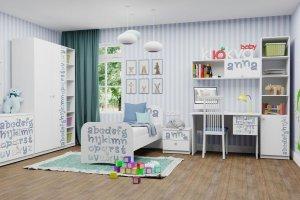 Светлая детская Baby Алфавит - Мебельная фабрика «Клюква»