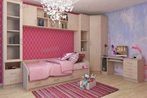 Светлая детская мебель Умка - Мебельная фабрика «НАРУС»