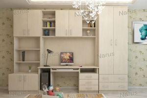 Светлая детская со столом Лицей - Мебельная фабрика «НАРУС»