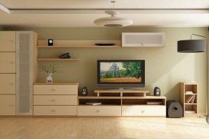 Светлая гостиная - Мебельная фабрика «Мебельная мастерская»