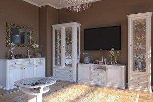 Светлая гостиная Александра - Мебельная фабрика «Сомово-мебель»