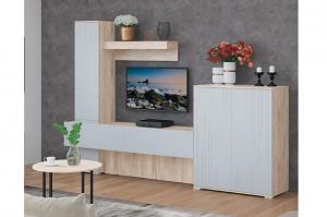 Светлая гостиная Лайн 3 - Мебельная фабрика «МСТ. Мебель»