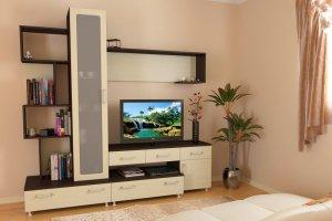 Светлая гостиная мебель МС 21 - Мебельная фабрика «Алекс-Мебель»