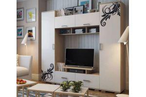 Светлая гостиная Нота 18 - Мебельная фабрика «Новосибирская Мебель»