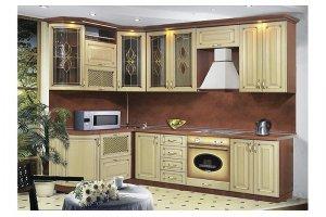 Светлая классическая Кухня 25 - Мебельная фабрика «Модерн»