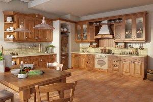 Светлая классическая Кухня Леда - Мебельная фабрика «GeosIdeal»