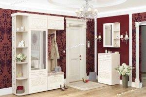 Светлая классическая прихожая Тиффани - Мебельная фабрика «Витра»