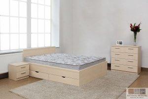 Светлая кровать - Мебельная фабрика «Актуаль-М»