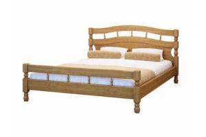 Светлая кровать из дерева Наташа - Мебельная фабрика «Верба-Мебель»
