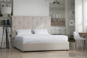 Светлая кровать в спальню Дилар - Мебельная фабрика «NEXTFORM»