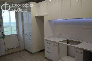 Светлая КУХНЯ №35 - Мебельная фабрика «Философия мебели»