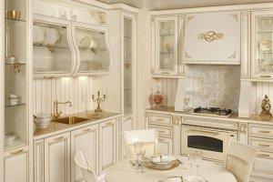 Светлая кухня  Classico  Regina - Импортёр мебели «Latini»