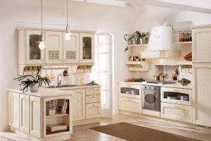 Светлая кухня Доминика - Мебельная фабрика «Симбирская мебельная компания»