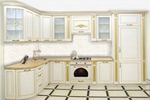 Светлая кухня Италика - Мебельная фабрика «Прометей»