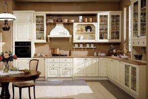 Светлая кухня из массива - Мебельная фабрика «Моллитер» г. Калининград