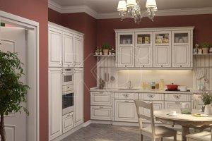 Светлая кухня Катарина - Мебельная фабрика «Кухонный двор»