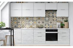 Светлая кухня прямая Тренд-2 - Мебельная фабрика «Фаворит»