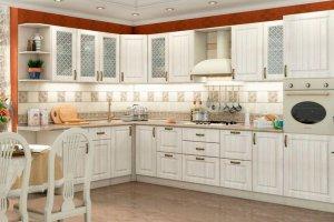 Светлая кухня в классическом стиле - Мебельная фабрика «FORSETI»