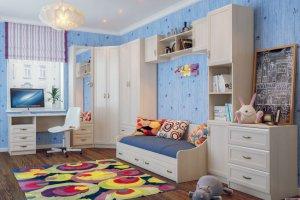 Светлая Мебель для детей - Мебельная фабрика «Актуаль Мебель»