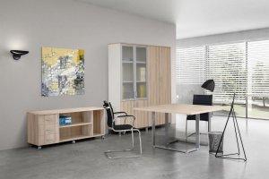 Светлая офисная мебель Призма Директ - Мебельная фабрика «FUTURA»