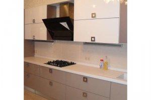 Светлая прямая кухня - Мебельная фабрика «Стротман»