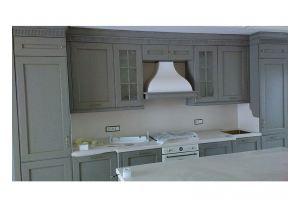 светлая прямая кухня из массива - Мебельная фабрика «Винтаж»