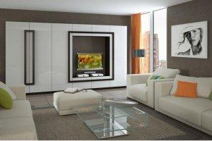 Светлая современная гостиная 001 - Мебельная фабрика «Вся Мебель»