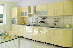 Светлая современная кухня из МДФ - Мебельная фабрика «Арт-Тек мебель»