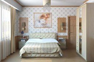 Светлая спальня - Мебельная фабрика «Колорит»