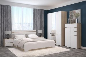 Светлая спальня Анталия - Импортёр мебели «ТМК»