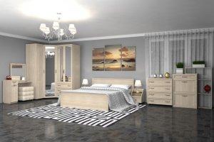 Светлая спальня Гармония - Мебельная фабрика «Премиум»