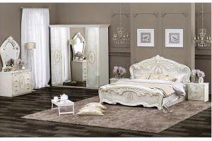 Светлая спальня классическом стиле Флоренция - Мебельная фабрика «ИнтерДизайн»