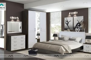 Светлая спальня Прованс - Мебельная фабрика «МАРИБЕЛЬ»