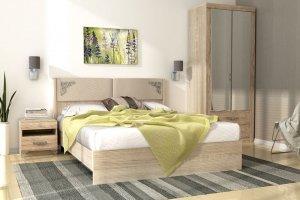 Светлая спальня Сан-Ремо - Мебельная фабрика «Аквилон»