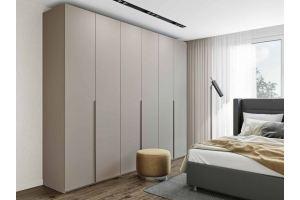 Светлый шкаф в спальню Толедо - Мебельная фабрика «Артис»