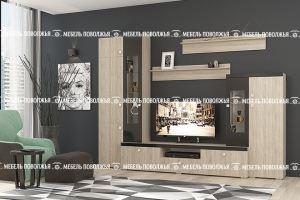 Светлая стенка Сицилия - Мебельная фабрика «Мебель Поволжья»
