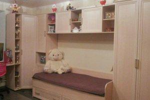 Светлая стенка в детскую - Мебельная фабрика «Мебель +5»