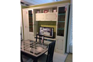 Светлая стенка в гостиную - Мебельная фабрика «Дэрия»