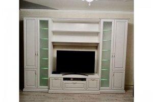 Светлая стенка в гостиную - Мебельная фабрика «Абис»