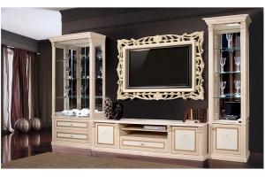 Светлая столовая-гостиная Карина 3 - Мебельная фабрика «Ярцево»