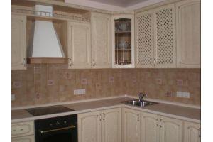 Светлая угловая кухня - Мебельная фабрика «Радуга-Мебель»