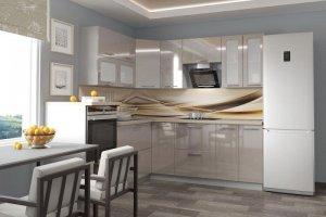 Светлая угловая кухня Марта - Мебельная фабрика «Веста»