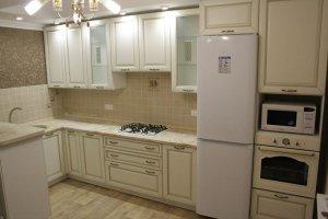 Светлая угловая кухня Николь - Мебельная фабрика «Энли»