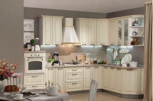 Светлая угловая кухня Палермо - Мебельная фабрика «Мебельсон»