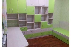 Светлая зеленая детская - Мебельная фабрика «Народная мебель»