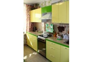 Светлая зеленая кухня - Мебельная фабрика «Елиза»