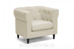Светлое кресло AL 45 - Мебельная фабрика «Alternatиva Design»