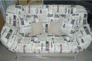 Диван клик-кляк Газета - Мебельная фабрика «Диваны от Ани и Вани»