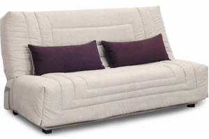 Светлый диван Куршевель клик-кляк - Мебельная фабрика «Rina»